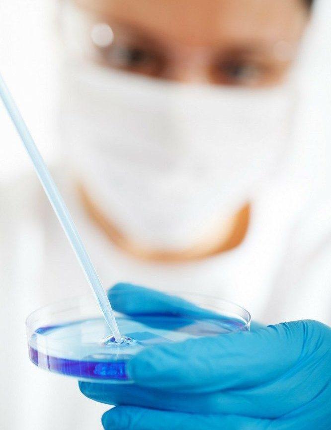 Petriskålar för prover