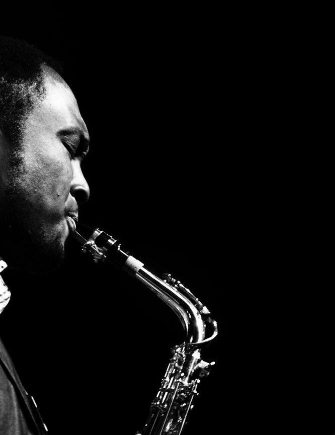 En saxofon höjer ljudupplevelsen